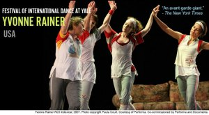 Yvonne Rainer, November 14-15 2008 at the Yale Rep Theater