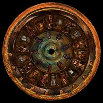 "Jean-Michel Bruyère's ""Si Poteris Narrare,"" (2002).  Postcolonial phantasmorgia in the dome of Jeffrey Shaw's ""Eve Cinema."""